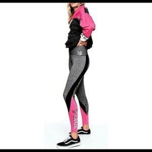 Victoria's Secret Pink Colorblock Yoga Leggings
